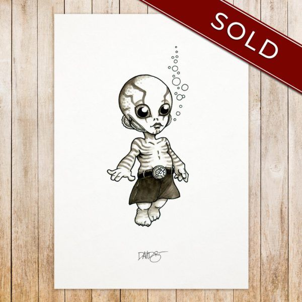 Abe Sapien original_SOLD