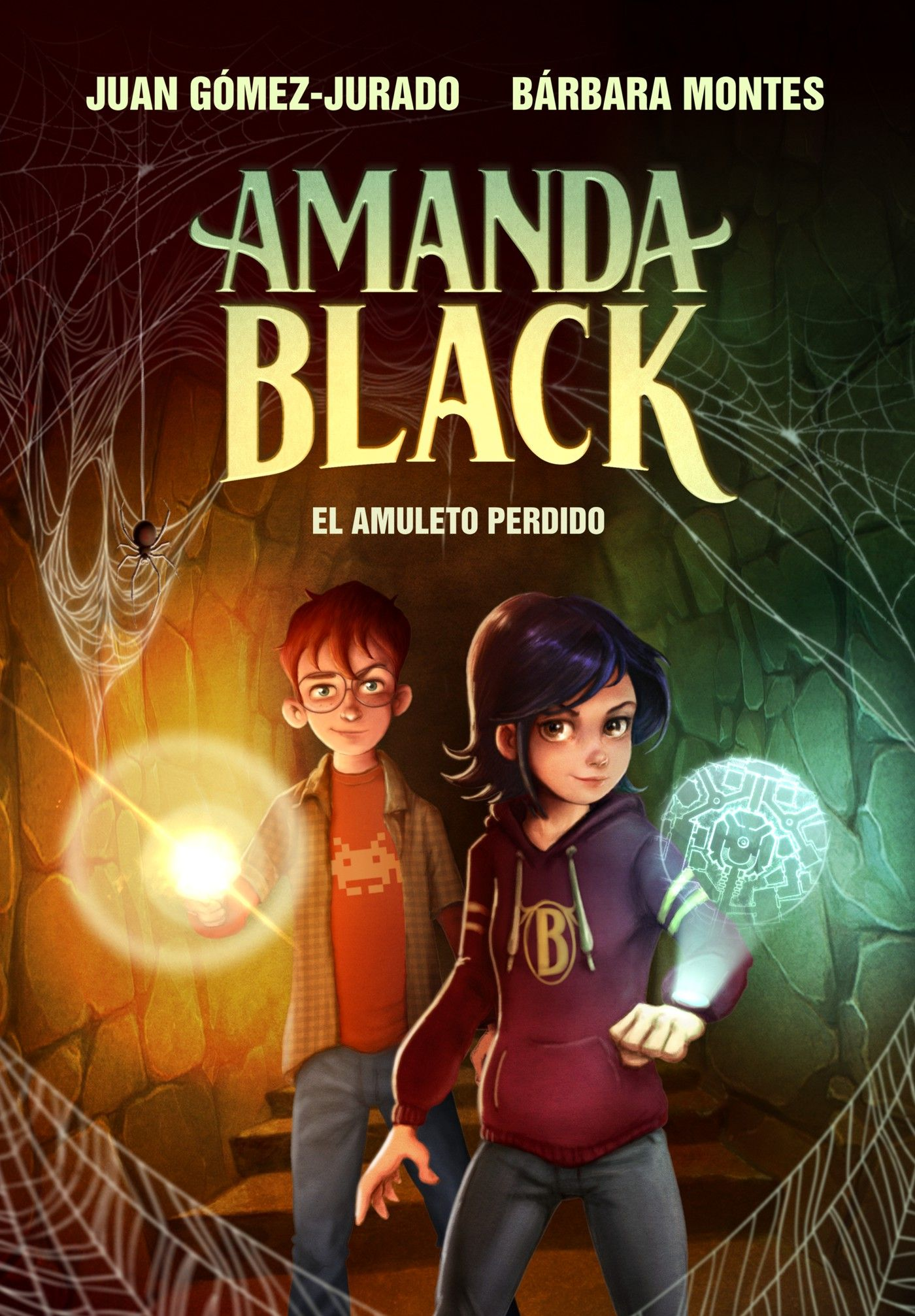 Amanda Black - El Amuleto Perdido - ilustración portada