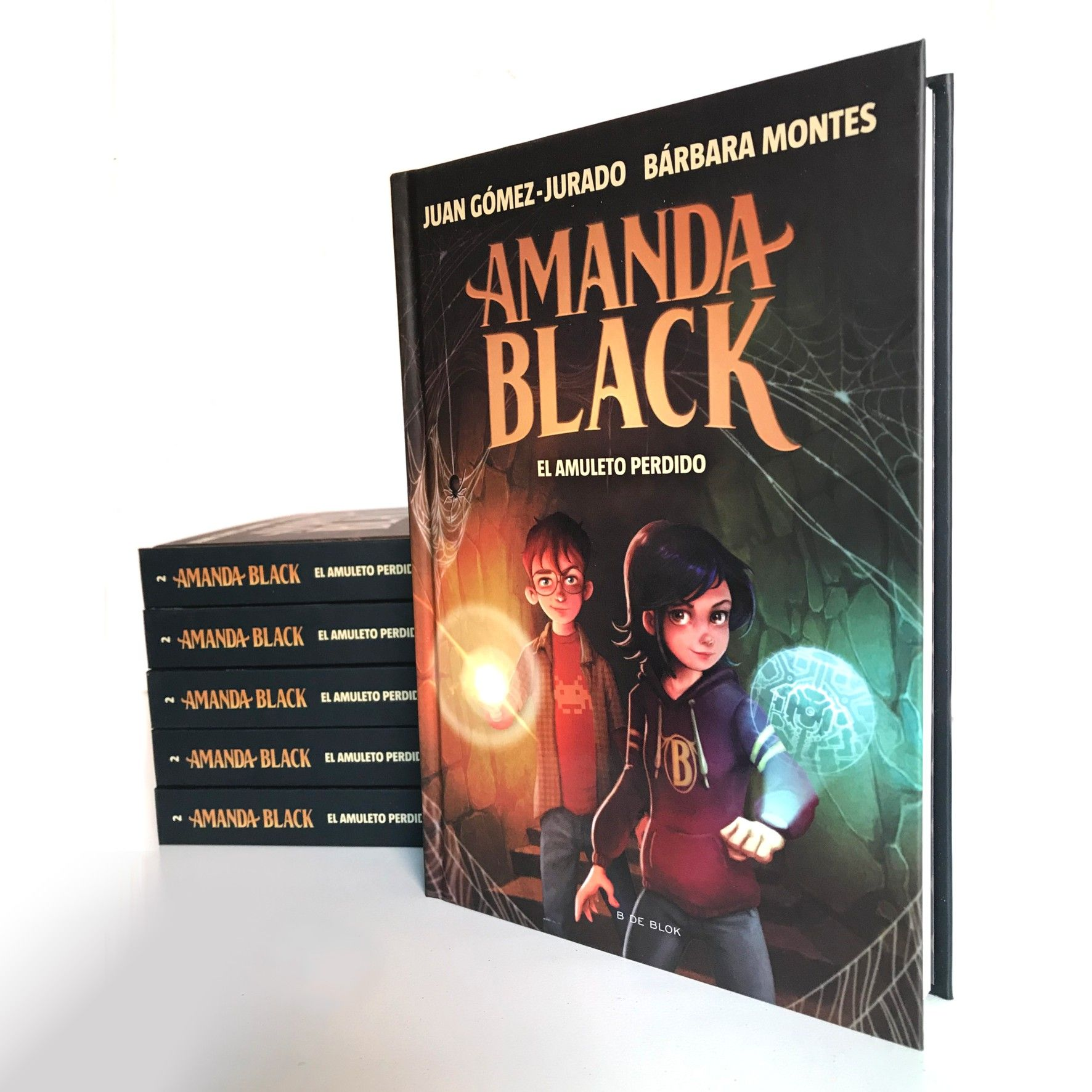 Amanda Black - ilustración color
