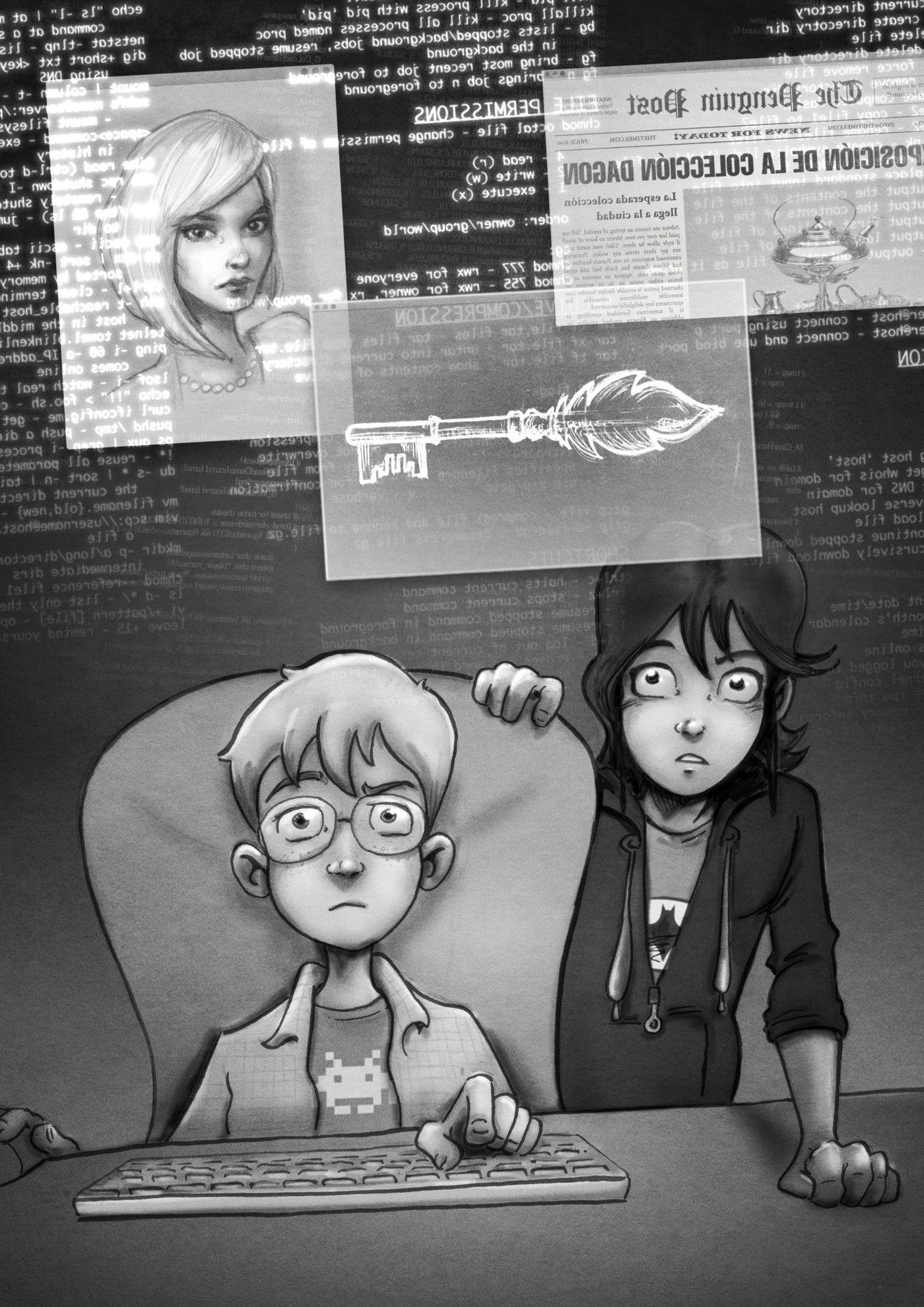 Amanda Black - Una herencia peligrosa - ilustración interior 06