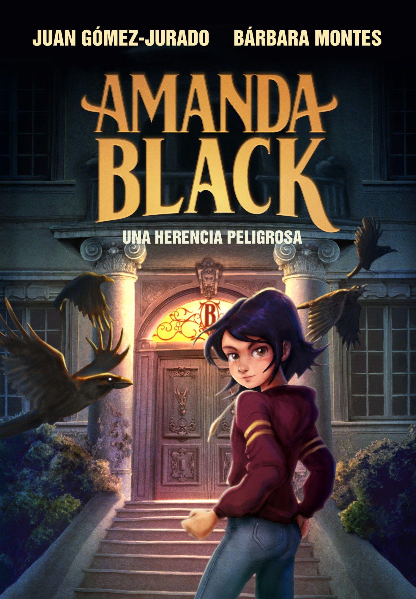 Amanda Black - Una herencia peligrosa - ilustración portada - Juan Gómez-Jurado - Bárbara Montes