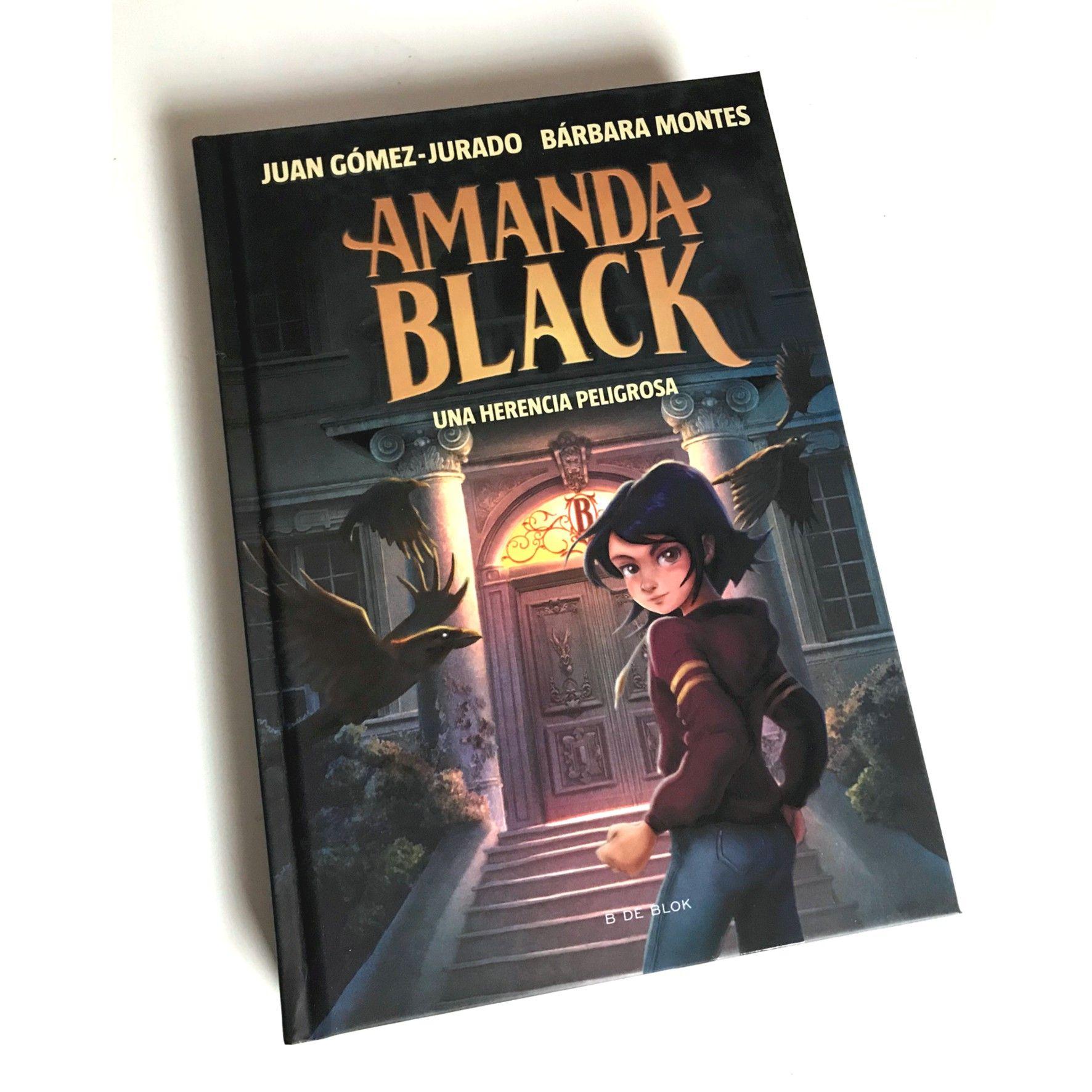 Amanda Black - Una herencia peligrosa - portada libro