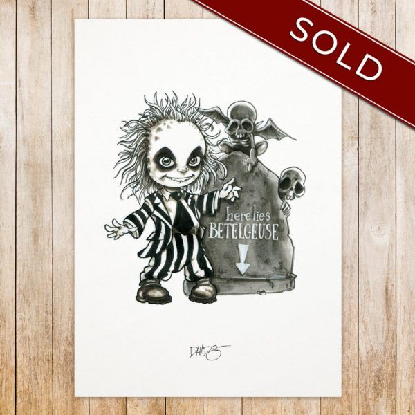 Bettlejuice original_SOLD