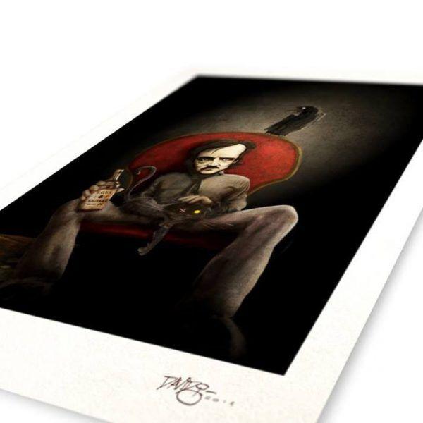 Edgar Allan Poe's Print