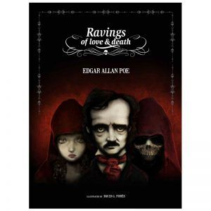 Edgar Allan Poe's Ravings of Love and Death - Cover