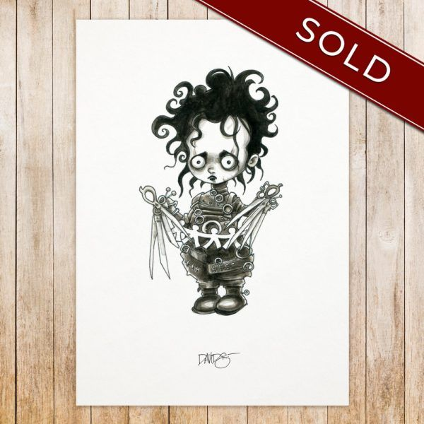 Edward Scissorhands original_SOLD