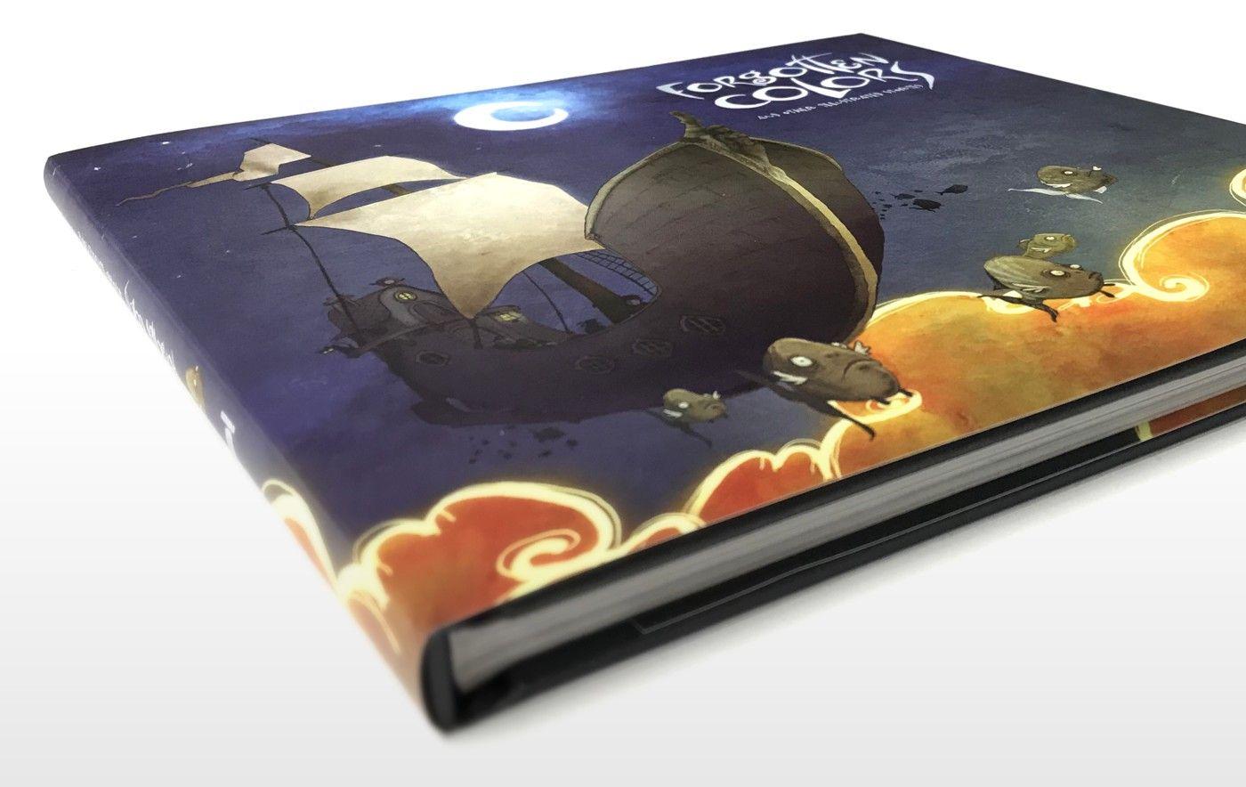 Forgotten Colours - Book Cover