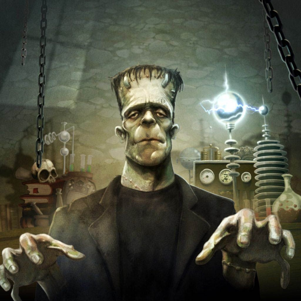 Frankenstein - Cover illustration