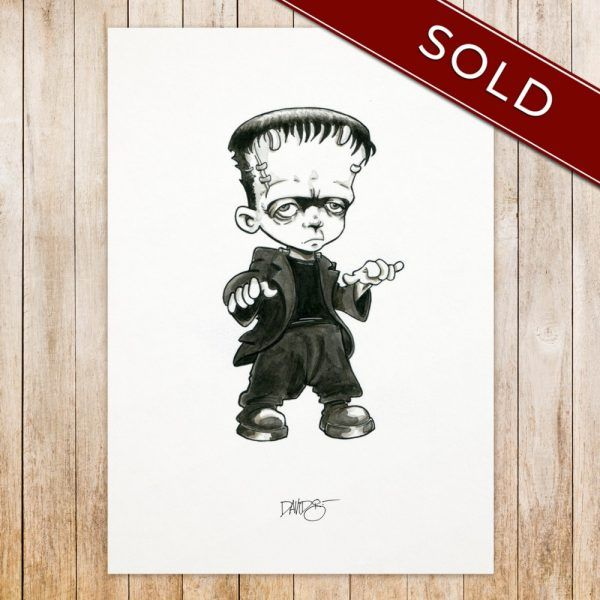 Frankenstein original_SOLD