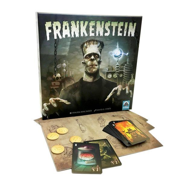 Frankestein Board Game by Invedars