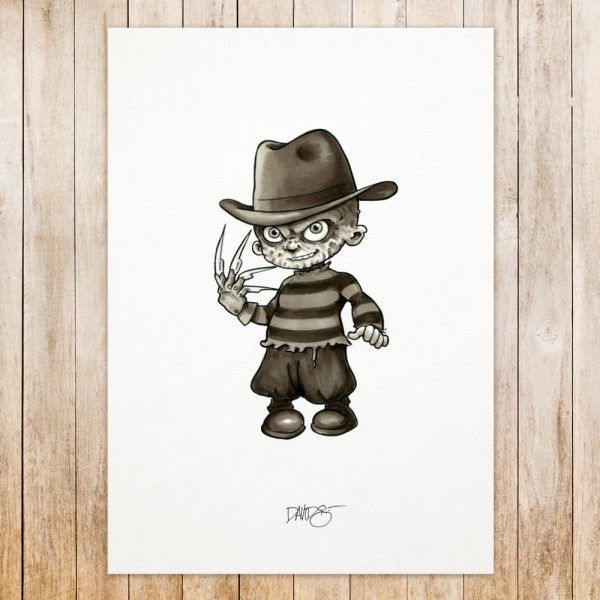 Freddy Krueger original art