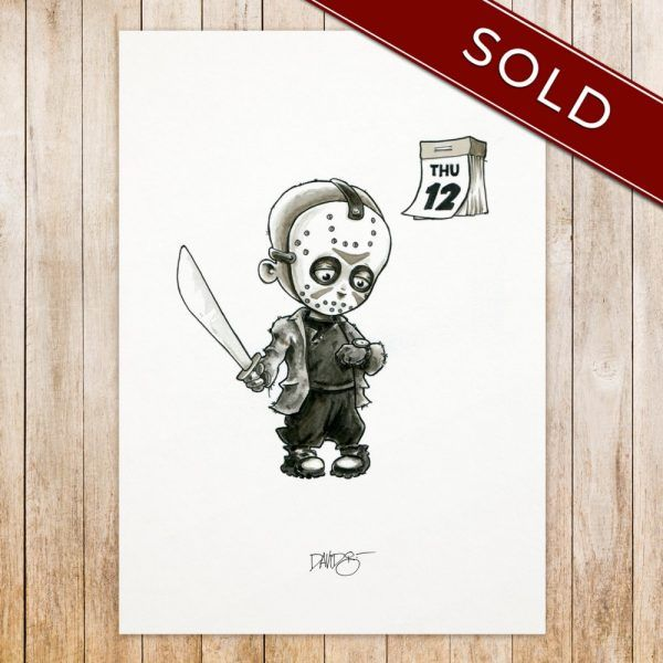 Jason Whoores original_SOLD