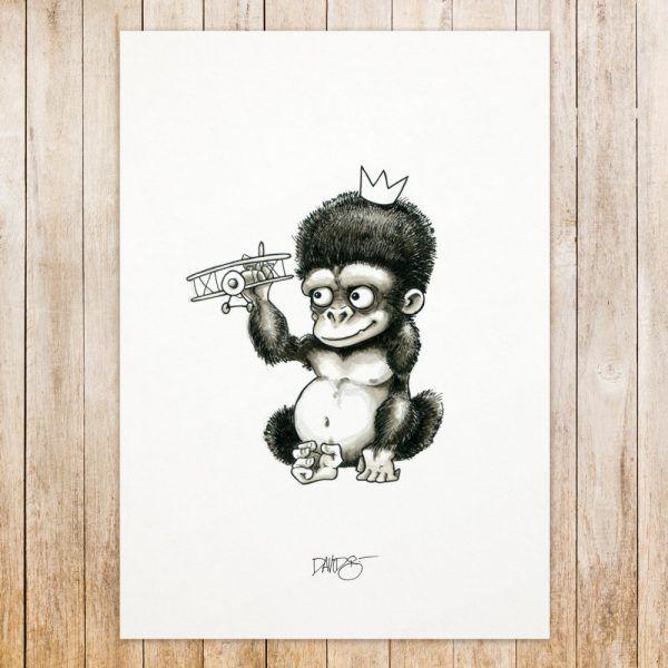 King Kong original art