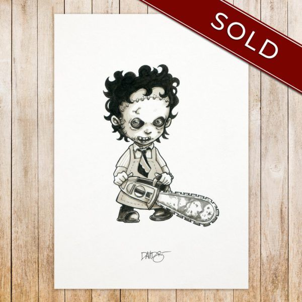 Leatherface original_SOLD