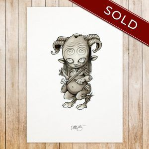Pan original art - SOLD