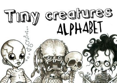 Tiny Creatures Alphabet