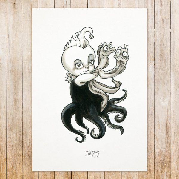 Ursula original art