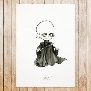 Voldemort original art