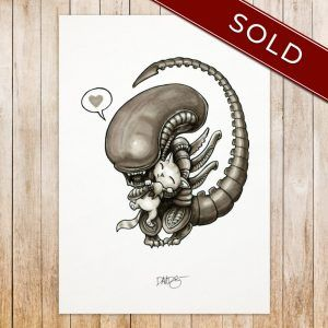 Xenomorph original_SOLD