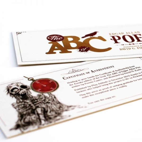 The ABC of Edgar Allan Poe - Eureka Edition