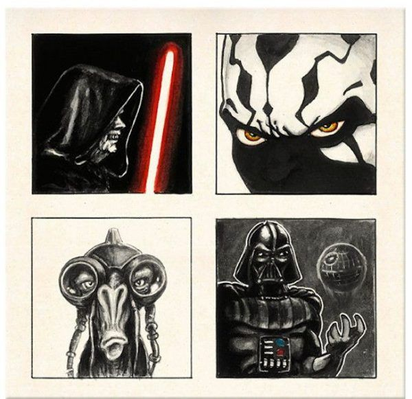 The Ink Harvest - A tribute to Star Wars by David G. Forés